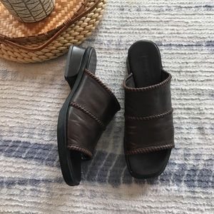 Cole Haan country brown slide sandals size 7